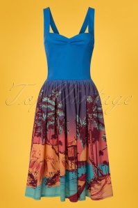 Dancing Days by Banned Tropical Swing Dress 102 39 24321 20180327 0001w