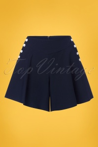 Vixen Polly Navy Shorts 130 31 23228 20180410 0004w