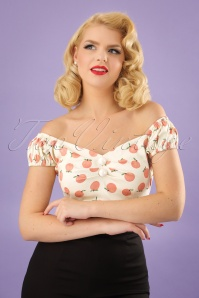 Collectif Clothing Dolores Peachy Top 23636 20171122 1W
