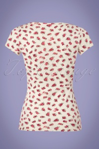 Blutsgeschwister Floral White Top 111 59 23481 20180412 0003W