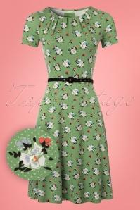 Vive Maria My Memory Green Floral Dress 106 49 25145 20180410 0001W1