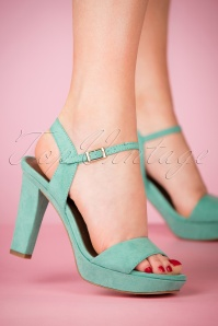 Tamaris Mint Velvet Sandals 402 40 23433 28032018 003W