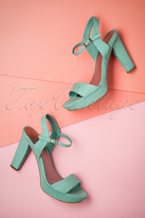 Tamaris Mint Velvet Sandals 402 40 23433 11042018 010W