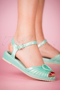 Miss L Fire Adriana Mint Sandals 420 40 23456 28032018 003W