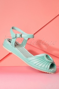 Miss L Fire Adriana Mint Sandals 420 40 23456 11042018 005W