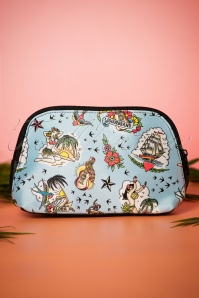 50s Aloha Make-up Bag