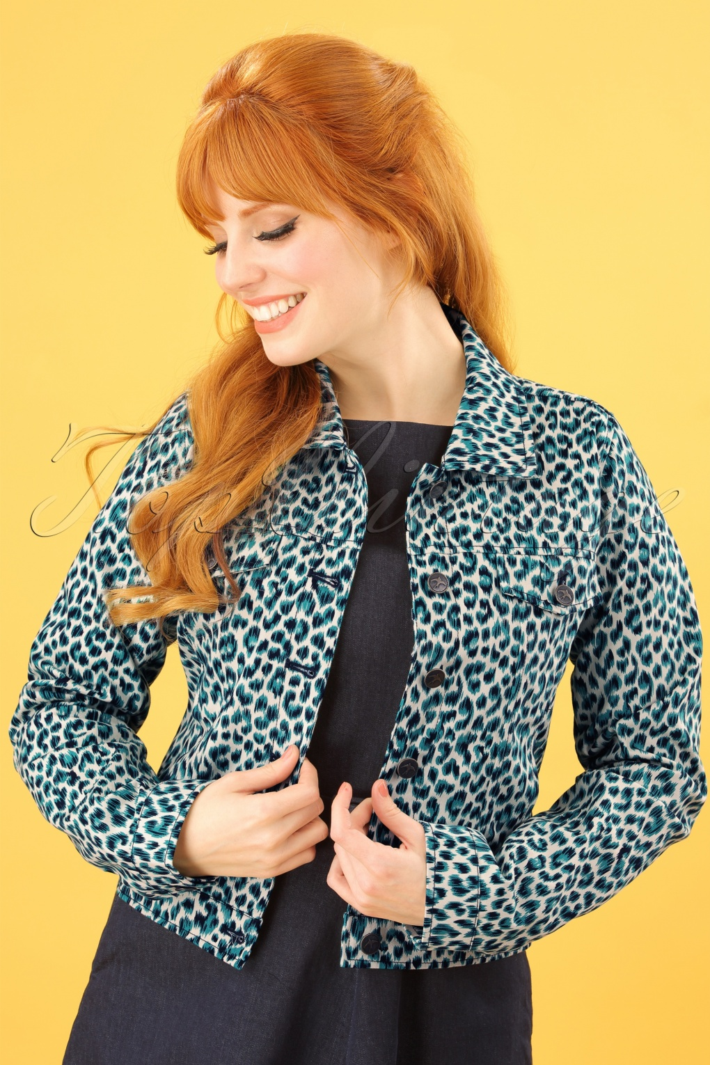 Vintage Coats & Jackets | Retro Coats and Jackets 60s Janey Catnip Jacket in Putty Ecru £61.13 AT vintagedancer.com