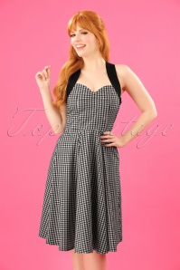 Dancing Days by Banned Summer Days Checkered Swing Dress 102 14 24297 20180320 0009W