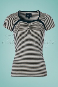 Vive Maria Sailor Saloon Striped Top111 57 25144 20180410 0001AnoukW