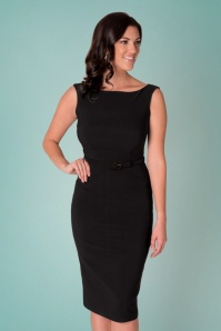 Tatyana Jazmin Black Pencil Dress 100 10 24684 20180410 0010