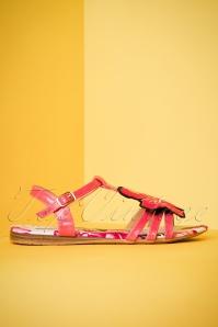 Lulu Hun Lottie Hibiscus Sandals 420 20 23785 18042018 002W