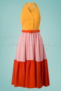 Miss Candyfloss Yellow Blush Dress 102 80 24180 20180416 0002w