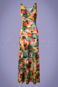 Lalamour Floral Maxi Dress 108 89 23686 20180416 0001w
