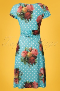Lalamour Polkadot Floral Dress 102 39 23685 20180416 0003W