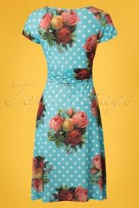 Lalamour Polkadot Floral Dress 102 39 23685 20180416 0003W