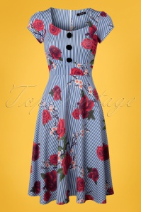 Vintage Chic Roses Dress 102 39 24493 20180420 0001w