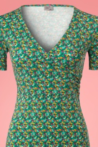 Wow To Go! Krista Parrot Dress in Green 102 49 22868 20180406 0001c
