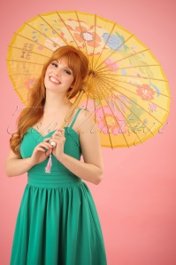 Dapper Day Garden Party Parasol yellow 290 89 25974 05052014 005W