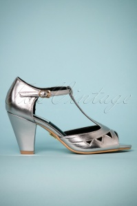 Lulu Hun Veronica sandals in silver 401 92 23777 23042018 002W