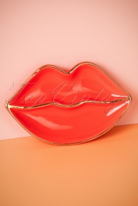 Sass & Belle Patches & Pins Lips Trinket Dish 290 20 25203 26042018 006W
