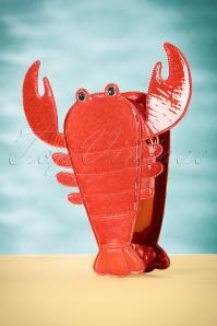 Lobster Novelty Bag Années 50 en Rouge