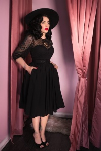 Vixen by Micheline Pitt Frenchie Polkadot Mesh Dress 102 10 24624 20180420 01