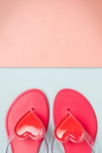 Petite Jolie Pink Boo Flip Flops 420 22 23711 30042018 007