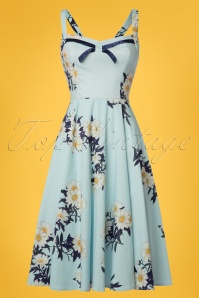Hearts and Roses Light Blue Daisy Swing Dress 102 39 24552 20180503 0015W