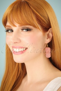Splendette Carved Pale pink Earrings 333 22 25209 01W
