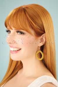 Darling Divine Mustard Earrings 333 80 24696 3W