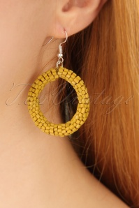 Darling Divine Mustard Earrings 333 80 24696 2W
