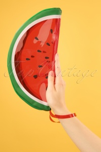 Watermelon See Thru Clutch Années 60