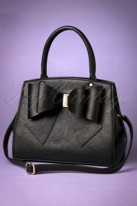 La Parisienne Handbag in Black with Bow 212 10 25811 20180502 0026w