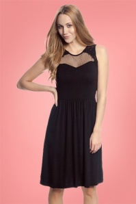 Vive Maria Black Princess Mesh Dress 102 10 25139 20180410 0006