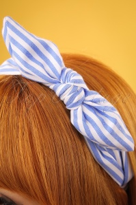 Darling Divine Blue Striped Headband 208 39 24692 09052018 02w