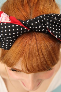 Be Bop A Hairbands Red Sherry Blosson Hairband 208 27 25470 3W
