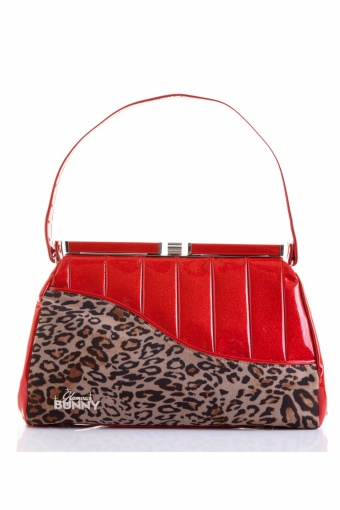 Red and Leopard Hand Bag website