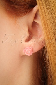 Glitz o Matic Pink Yellow and Creme Roses Earrings 330 90 24947 09052018 02W