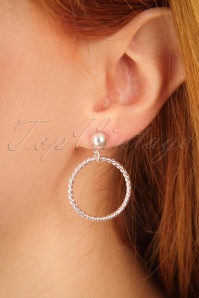 Glitz o Matic Silver Hoop Earrings 333 92 24944 09052018 02w