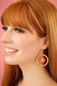 Glitz o Matic Floral Bamboo Hoop Earrings 333 27 24933 09052018 01W