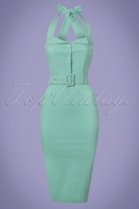 Collectif Clothing Wanda Plain Pencil Dress 22834 20171122 0001W