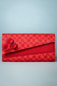Ruby Shoo Red Oxford Clutch 210 20 22717 20180509 0002w