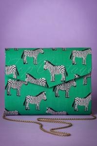 Compania Fantastica Green Zebra Handbag 211 49 25067 20180509 0004w