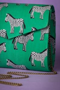 Compania Fantastica Green Zebra Handbag 211 49 25067 20180509 0002c