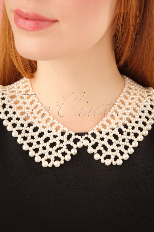 Collectif Clothing Eleanor Pearl Necklace 290 51 24616 2W