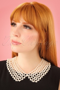 Collectif Clothing Eleanor Pearl Necklace 290 51 24616 1W
