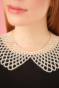 Collectif Clothing Enid Ivory Pearl Necklace 290 50 24617 2W