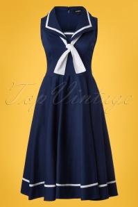 Sheen Sailor Navy Dress 102 31 23943 20180410 0001W