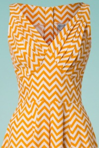 Miss Candyfloss Odette Orange Swing Dress 102 89 24196 20180508 0001V