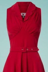Miss Candyfloss Red Swing Dress 102 20 24181 20180508 0005